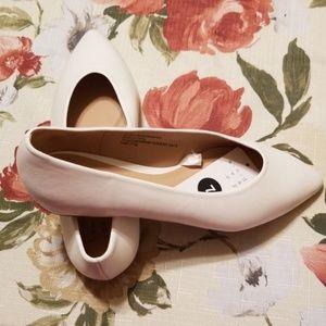 A New Day Cream Colored Cami Flats